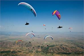 paragliding tourism development department