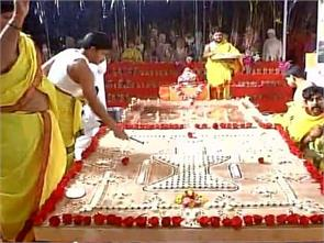 priests from india perform non stop yagya for purification of environment