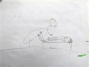 little girl s drawings reveal abuse by priest