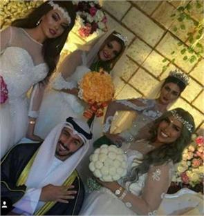 kuwaiti man marries four women on the same day