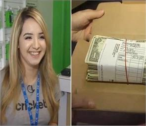 girl finds thousands of dollar inside pizza box