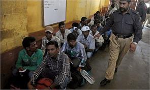 pak authorities returned parcels of indian fishermen prisoner