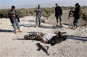 six taliban militants in pakistan pile