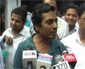 after notice nawazuddin siddiqui police station the police questioning