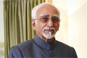 vice president hamid ansari leaves for algeria after a trip to hungary