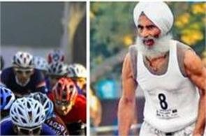 chandigarh cyclothon  manjit singh  who won the race professional