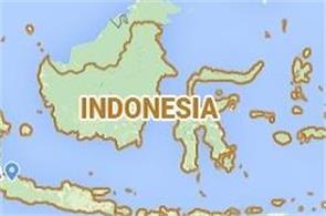earthquake hits indonesia  magnitude 6 point