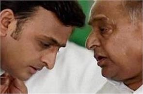 the grand alliance between the mulayam singh met akhilesh