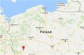 earthquake collapsed mine in poland  1 dead  7 missing