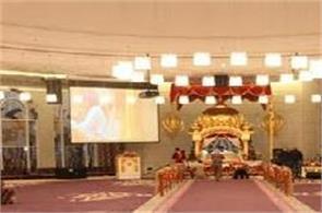 gurunarak darbai sikh temple at jebel ali in dubai