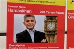 racist pakemon stickers in uk urge deporting obama london mayor sadiq khan