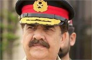 pakistan outgoing army chief raheel sharif issues warning to india