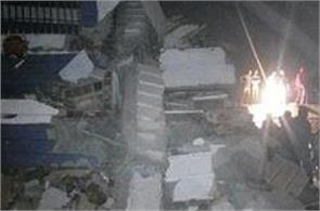 7 storey building collapsed in hyderabad 10 people feared dead