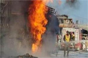 kenya petrol tanker crashes explodes