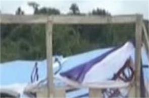 160 dead nigeria church roof collapses