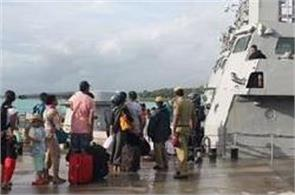2037 tourists reached port blair from havelock island