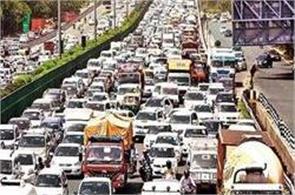delhi overburdened vehicles  number of vehicles registered 9 7 million