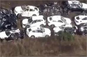 97 bmw cars damaged in south caroline