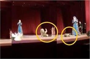 dancer collapses and dies on stage in russia