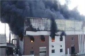 haryana  sonipat  fire  factory