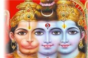 sri rama  hanuman  shiva