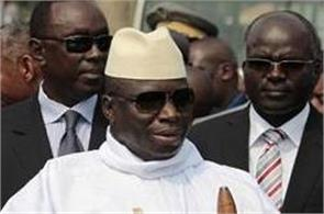 gambia  s president refuses to resign