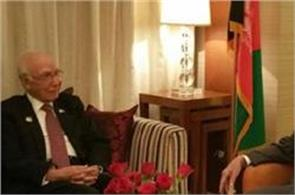 afghan president discusses peace in afghanistan with sartaj aziz