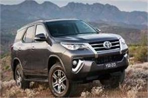 toyota fortuner sales has exceeded one million mark