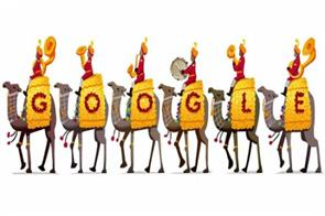 google celebrates republic day with doodle