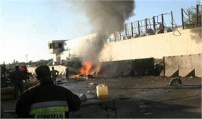 afghanistan indian consulate in jalalabad near the explosion the third attack in 10 days