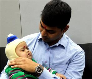 man adopting 14 month boy with down syndrome in mp