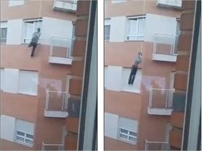 man plummets four floors to his death in spain