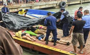 ship sinks off nicaragua 13 costa ricans dead