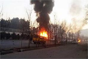 afghanistan suicide attack killed three policemen