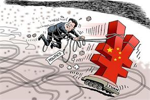 china rejects large devaluation of yuan