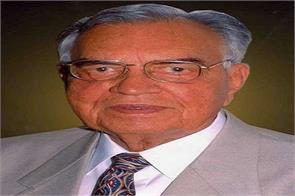 former union minister and speaker dr balram jakhar died