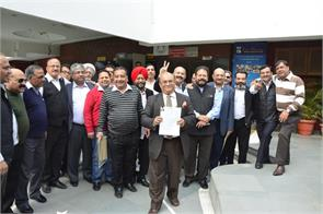 chandigarh club elections raj kumar and sandeep fill enrollment
