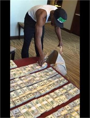 boxer champion mayweather  luxury life