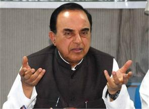 kanpur bjp leader subramanian swamy eggs thrown at