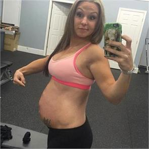 america 7 months pregnant woman stacy venagre
