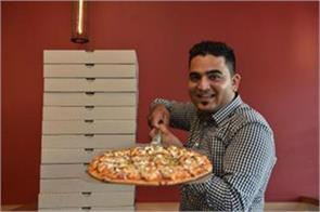 amazing pizza by indians in new zealand