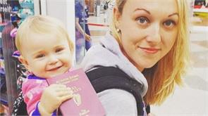 one year old has visited 12 countries with parents