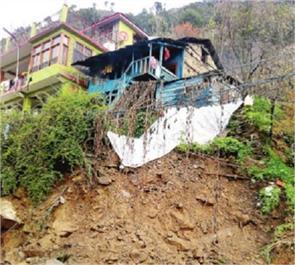 landslides house rain rural