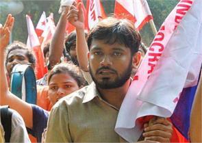 protest of ex soliders against kanahiya kumar
