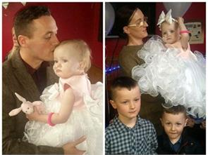 father marries his 16monthold daughter after she given just two days to live