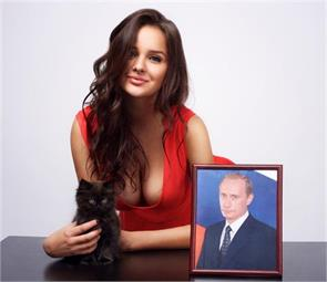 putin jokes about his love life but hints at new first lady