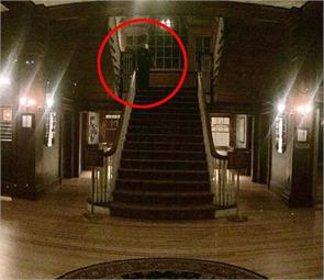 the stanley hotel guest captures creepy figure in lobby in america