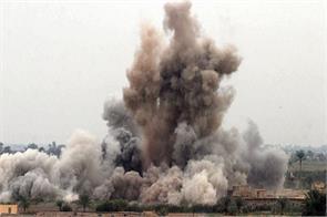syrian air raid in aleppo killing 26 people