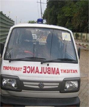 oxygen cylinder ambulance people