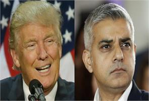 donald trump on ban on muslims mayor of london will be exception